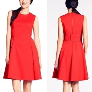 Kate Spade red Bow Back Dress
